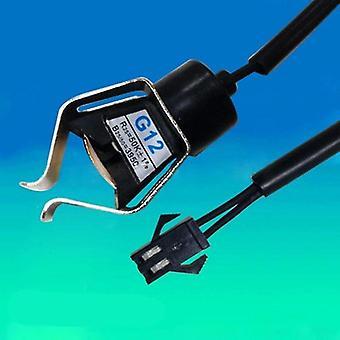 מותקן על הקיר צינור מהדק סוג - ראש חיישן טמפרטורה NTC