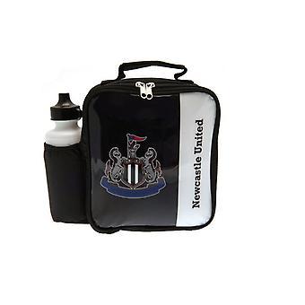 Bolsa y botella de almuerzo del Newcastle United FC