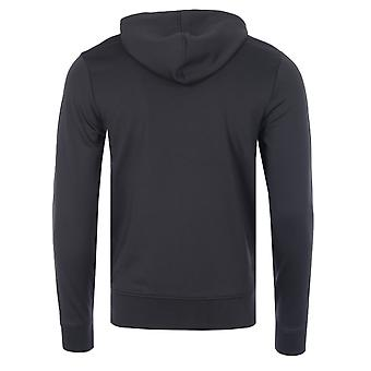 Luke 1977 Trico Tape Logo Zip Hooded Sweatshirt - Black