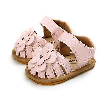 Baby Flower Park Summer Outdoor Hook-loop Flat Shoes