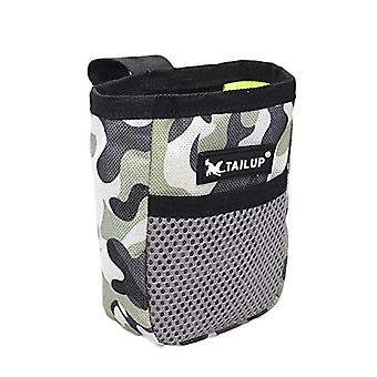 Outdoor Portable Training Dog Snack Bag Dog Treat Pouch Pet Supplies Strong Wear Resistance Large Capacity Puppy Products Waist Bag Durable