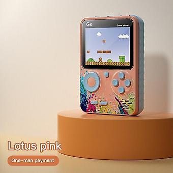 3 Zoll Bildschirm Handheld-Konsole Videospielkonsole Eingebaut 500 Spiele Retro Kinder Geschenk