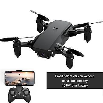 Mini 2,4 gHz-es drón 4k kamera hd összehajtható drone quadcopter vissza fpv egy kattintással kövessen rc dron