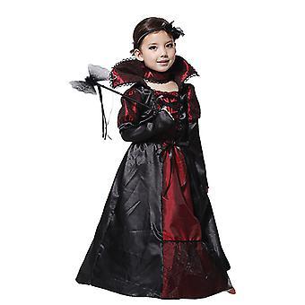ילדי ליל כל הקדושים מכשפה ערפד תלבושות קוספליי תלבושת שמלה מפוארת