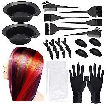 diy skjønnhetssalong hår farging kit