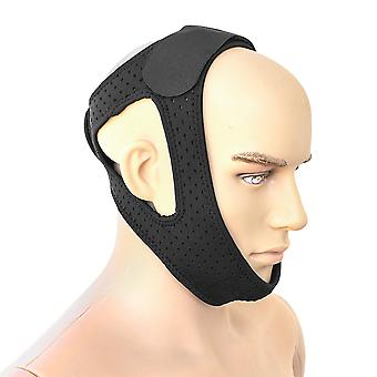 Homemiyn Anti Snore Chin Strap,snoring Solution Effective Anti Snore Device, Adjustable Stop Snoring Head Band