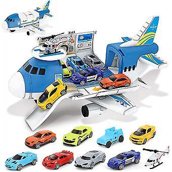 9 În 1 Transport Cargo Avion jucărie