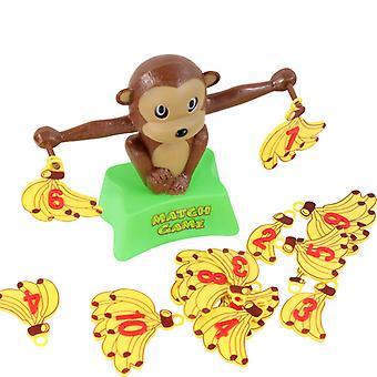 Qian Libra Monkey Banana Digital Balance Scale Positive And Negative Balance Children's Educational Early Education Learning Toy