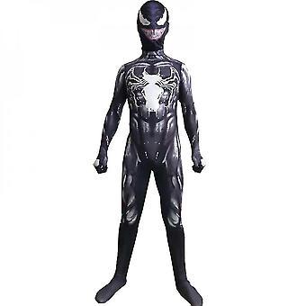 Kinder Jungen Venom Spider-Man Cosplay Kostüm Party Jumpsuit Kostüm Kostüm