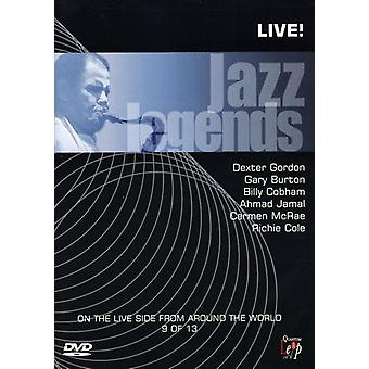 Jazz Legends Live!, Vol. 9 [DVD] USA import