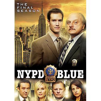 NYPD Blue: Den sidste sæson [DVD] USA importerer