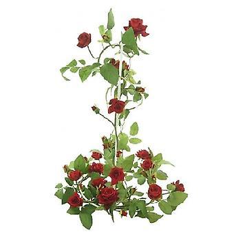 ArtificialOpen  Silk Supreme English Rose Garland