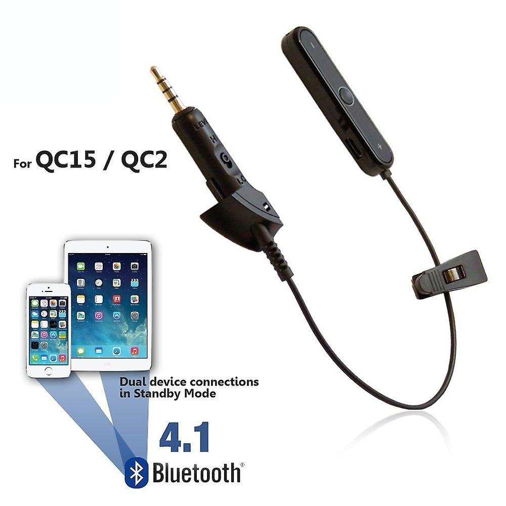 REYTID Wireless Bluetooth Adapter Converter Cable Compatible with Bose QC2/QC15 Headphones
