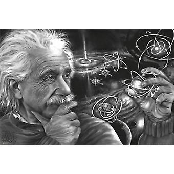 Danger James Harvey Einstein Quazar Poster Poster Print