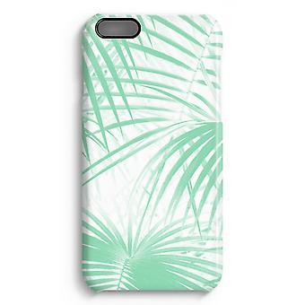 iPhone 6 Plus Full Print Fall (glänzend) - Palmblätter