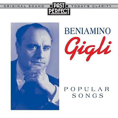 Gigli: Popular Songs from 1926 - 1940 [Audio CD] Gigli,Beniamino