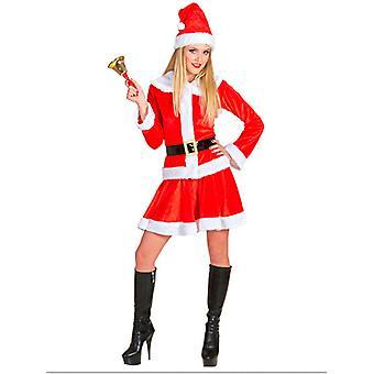 Vieille dame de père Noël temps