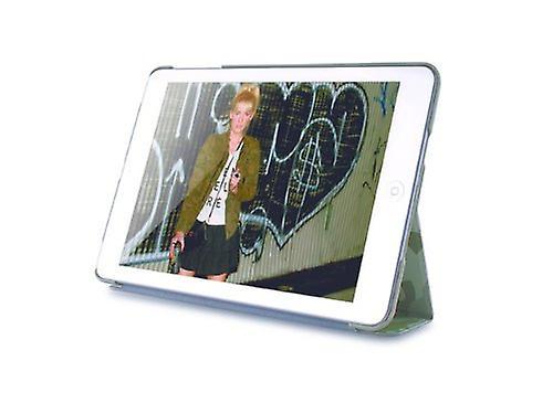 Caso di copertura di vibrazione PURO Zeta slim per Apple iPad mini - verde militare