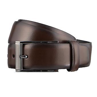 SAKLANI & FRIESE belts men's belts leather belt Brown 3175