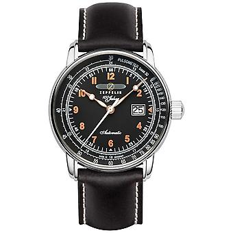 Zeppelin 100 Years Automatic Pulsometer Date Display 7654-5 Watch