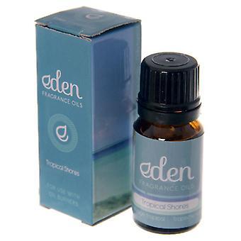 Fragrance Oil Tropical Shores 10ml by Eden