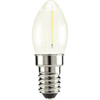 Sygonix LED EEC A++ (A++ - E) E14 Candle 0.5 W Warm white (Ø x L) 22 mm x 60 mm Filament 1 pc(s)