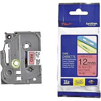 Merking tape (Hei-vis) bror TZe, TZ TZe-B31 Tape farge: oransje skrift farge: svart 12 mm 5 m-Signal