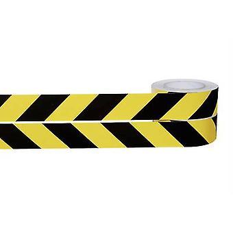 Morvaország 420.12.062 Figyelmeztető és jelölő szalagok PVC (L x W) 25 m x 50 mm