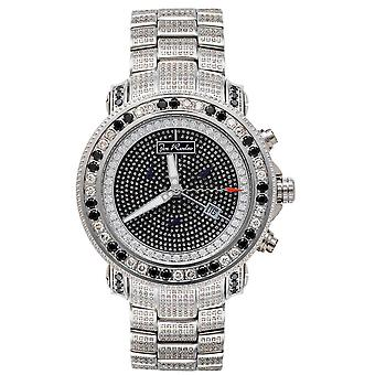 Joe Rodeo diamond men's watch - JUNIOR silver 13.25 ctw