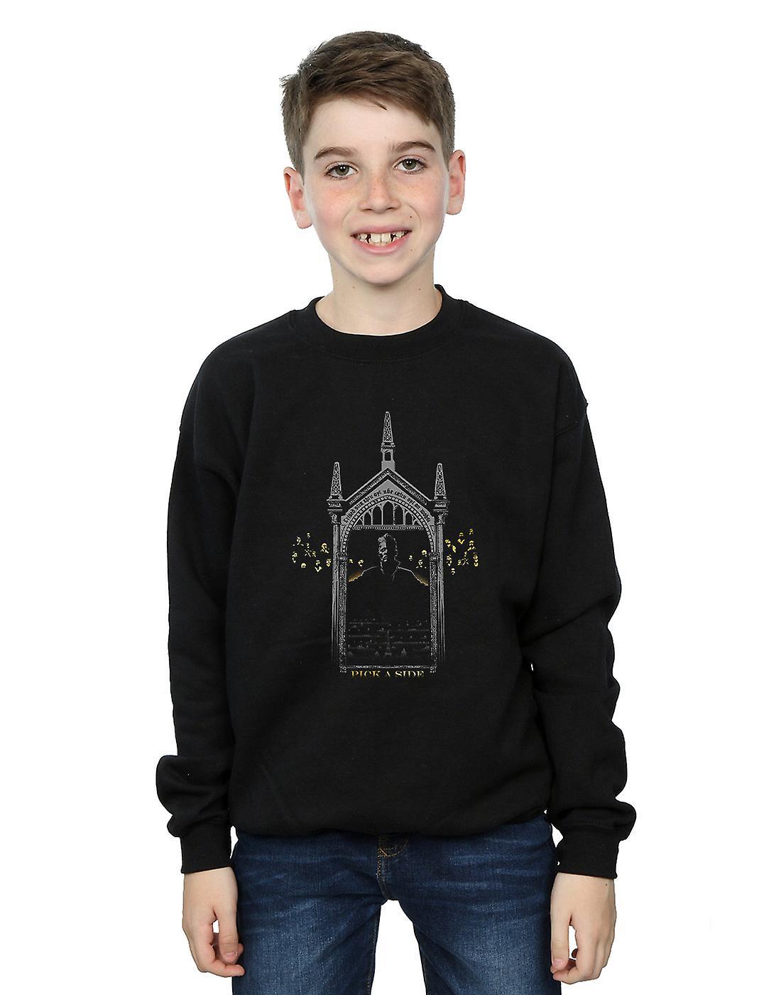 Fantastic Beasts Boys Pick A Side Sweatshirt