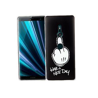 Sony Xperia XZ3 teléfono caso caso protector parachoques tienen un día agradable