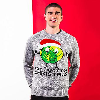 Christmas Shop Adults Unisex Sprouts Christmas Jumper