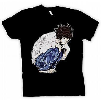 Herr T-shirt - Deathnote - Japansk Manga inspirerat