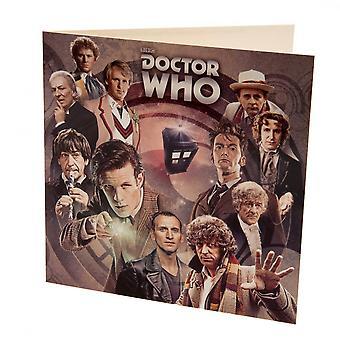 Доктор Кто пустая карточка