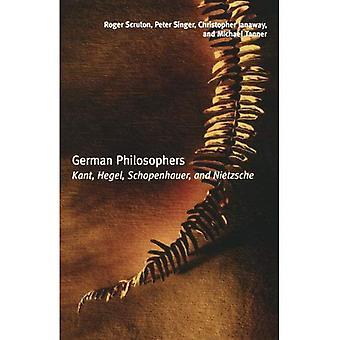 Deutsche Philosophen: Kant, Hegel, Schopenhauer, Nietzsche