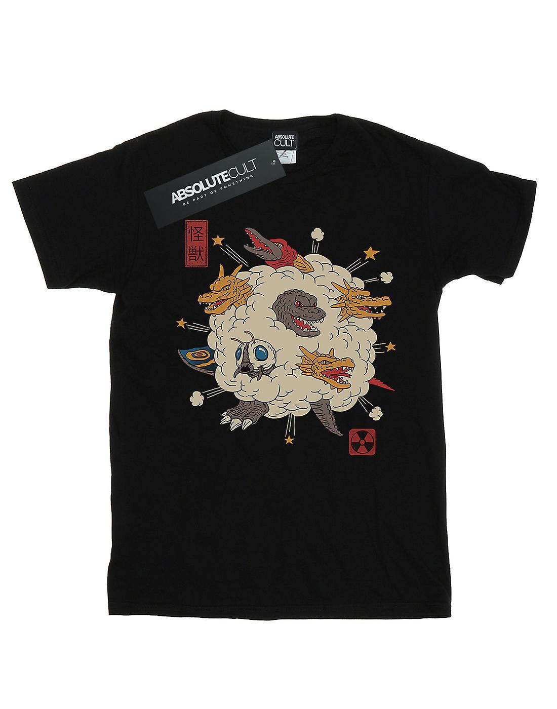 Vincent Trinidad Girls Kaiju Rumble T-Shirt