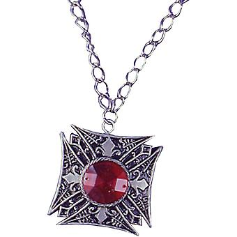 Médaillon Vampire rouge Gem