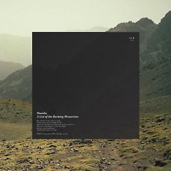 Oneida - List of the Burning Mountains [Vinyl] USA import