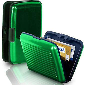 Wallet / Card holder with RFID protection (GREEN)