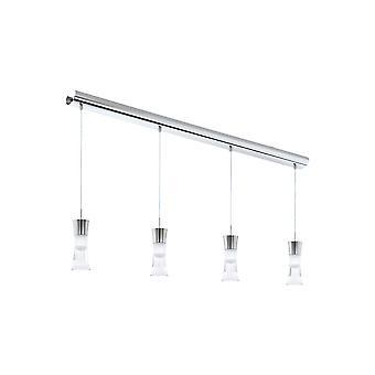 Eglo - Pancento 4 lys LED anheng tak lys hvit EG94358