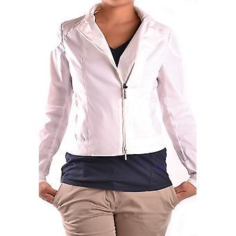 Brema Ezbc146024 Women's White Nylon Outerwear Jacket
