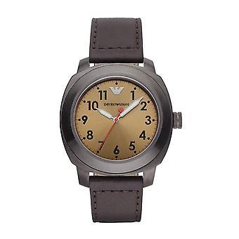 エンポリオ ・ アルマーニ Ar6058 スポルティーボ革ストラップ メンズ腕時計