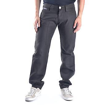 Gazzarrini Ezbc204003 Men's Brown Denim Jeans