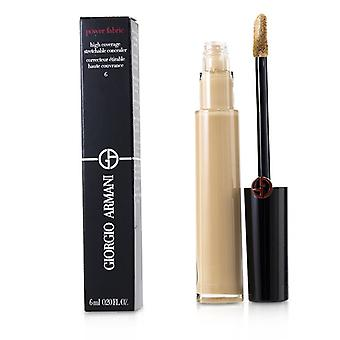 Giorgio Armani Power Fabric High Coverage Stretchable Concealer - # 6 - 6ml/0.2oz