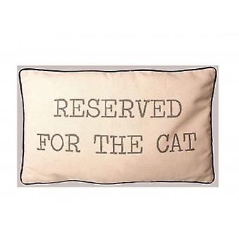 Sass And Belle Reserved For The Cat Cushion | GIfts From Handpicked