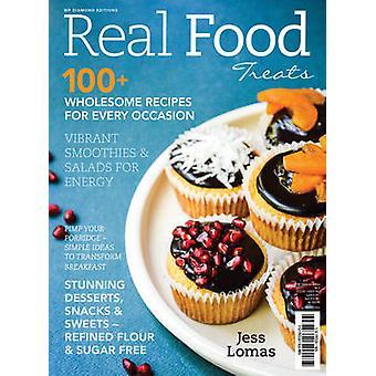 Real Food Treats by Jess Lomas - 9781925265255 Book