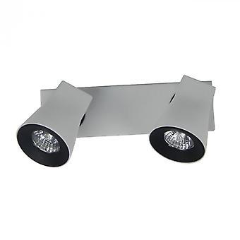 Techno grå Spot lys 2 lys