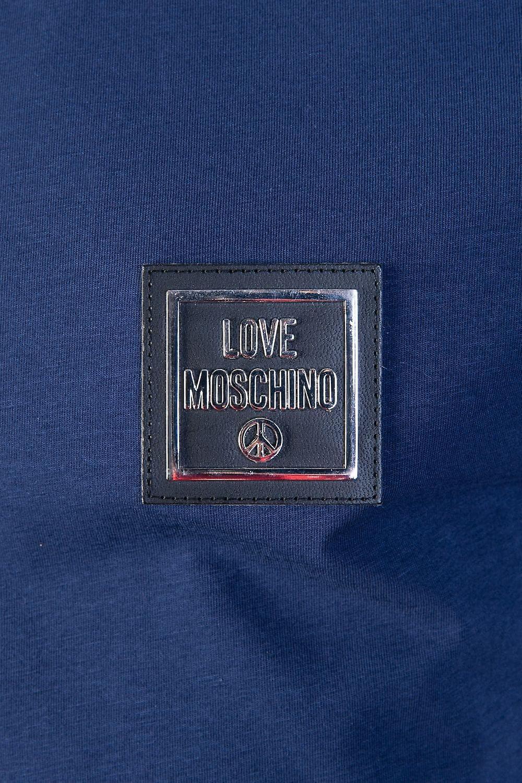 Moschino Round Neck T Shirt M4731 89 E1811
