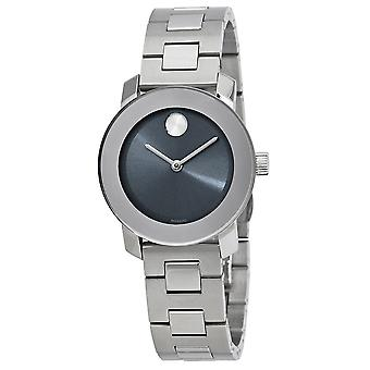 Movado Bold Stainless Steel Ladies Watch 3600436