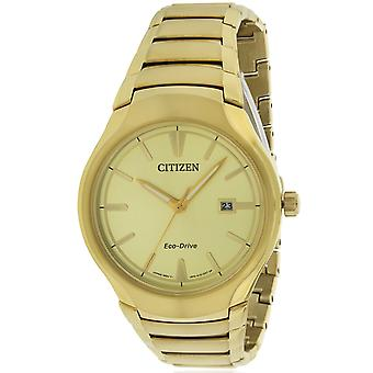 Citizen Eco-Drive paradigma Gold-Tone Mens Watch AW1552 - 54P